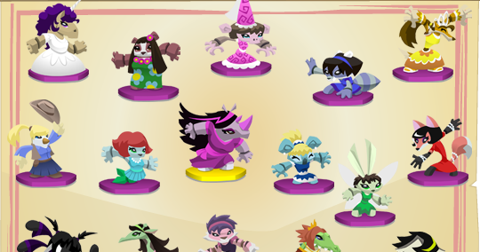 Squishy Animal Jam : March of the Phantoms- Lukeila s Animal Jam blog: Prizes