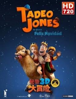 Poster de Las aventuras de Tadeo Jones (2012) Online