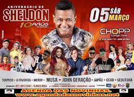 CHOPP LOUNGE CLUB - ANIVERSÁRIO DE SHELDON.