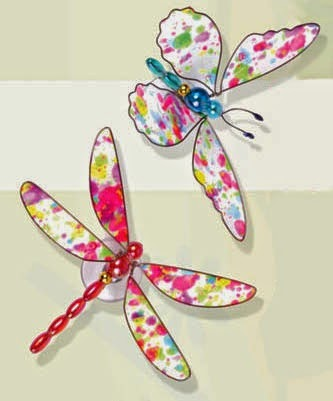 The Dragonfly And The Butterfly