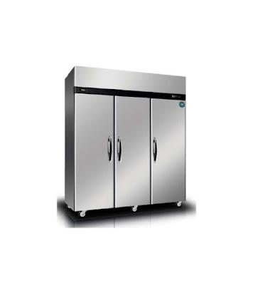Three Doors Three Sections - Upright Pasta Refrigerator