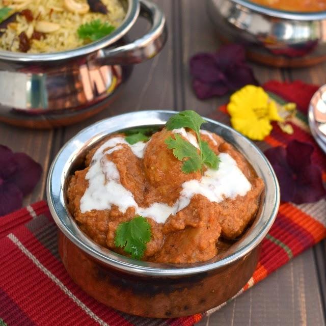 Shahi Arvi (Taro root/ Colacassia in Creamy Sauce)