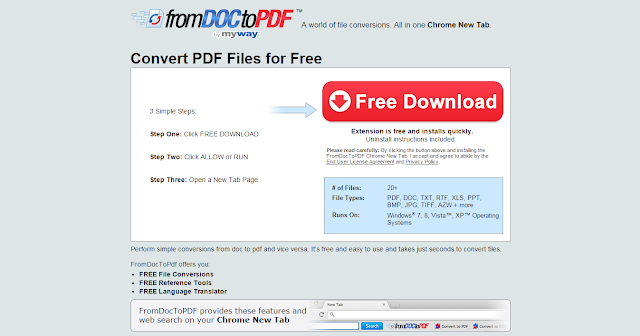DocToPDFConverter Toolbar