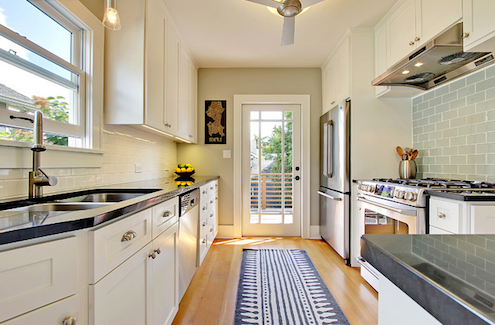 Top Kitchen Design: Galley Kitchen