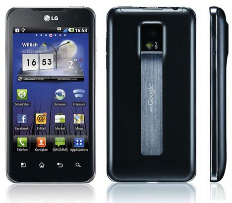 LG Optimus Spped Android 4.0 Update