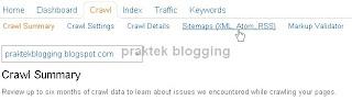 menambah sitemap blog ke bing