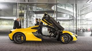 Gambar mobil baru tersebut adalah sketsa awal P1 GTR yang di rilis McLaren dengan sedikit konsep seni dan akan masuk produksi pada bulan Juni tahun depan
