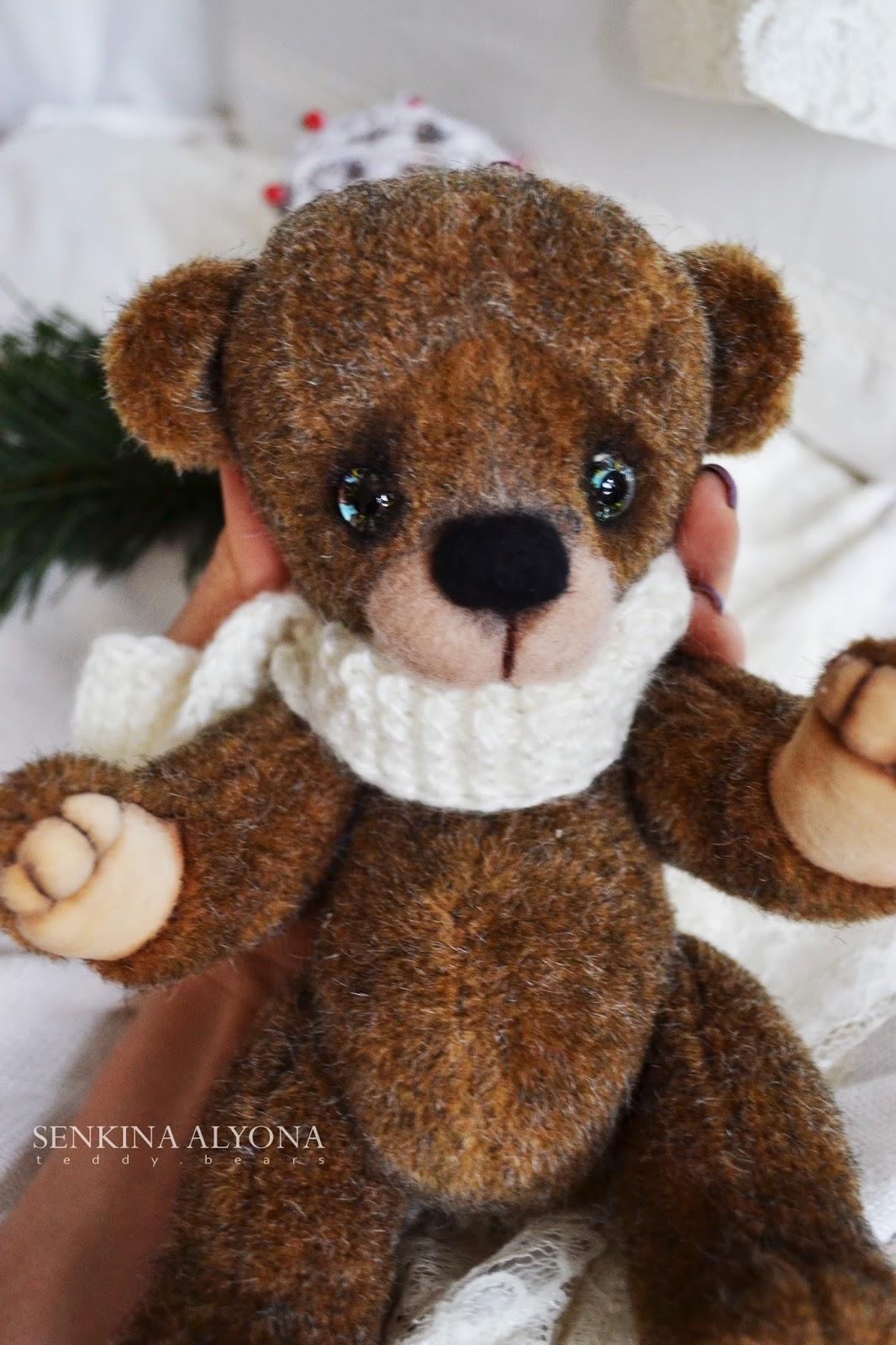мишка, медведь, новый год, рождество, тедди, мишка тедди, teddy bear, bear, winter bear , christmas, merry christmas, handmade, toy, игрушка ручной работы