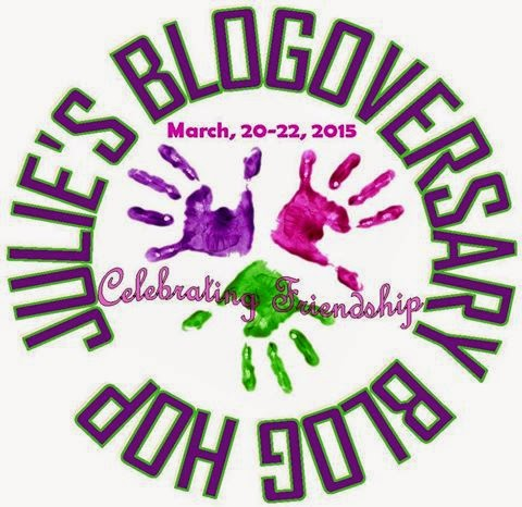 Julie's Blogoversary Bloghop