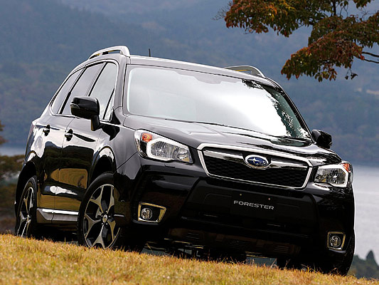 Japanese car photos 2014 Subaru Forester  -