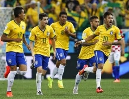 Kamerun vs Brasil
