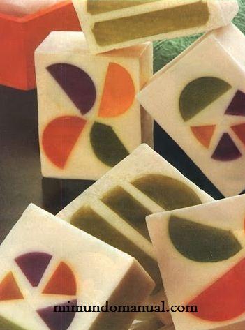 Jab n de glicerina paso a paso mimundomanual - Hacer jabones de glicerina decorativos ...