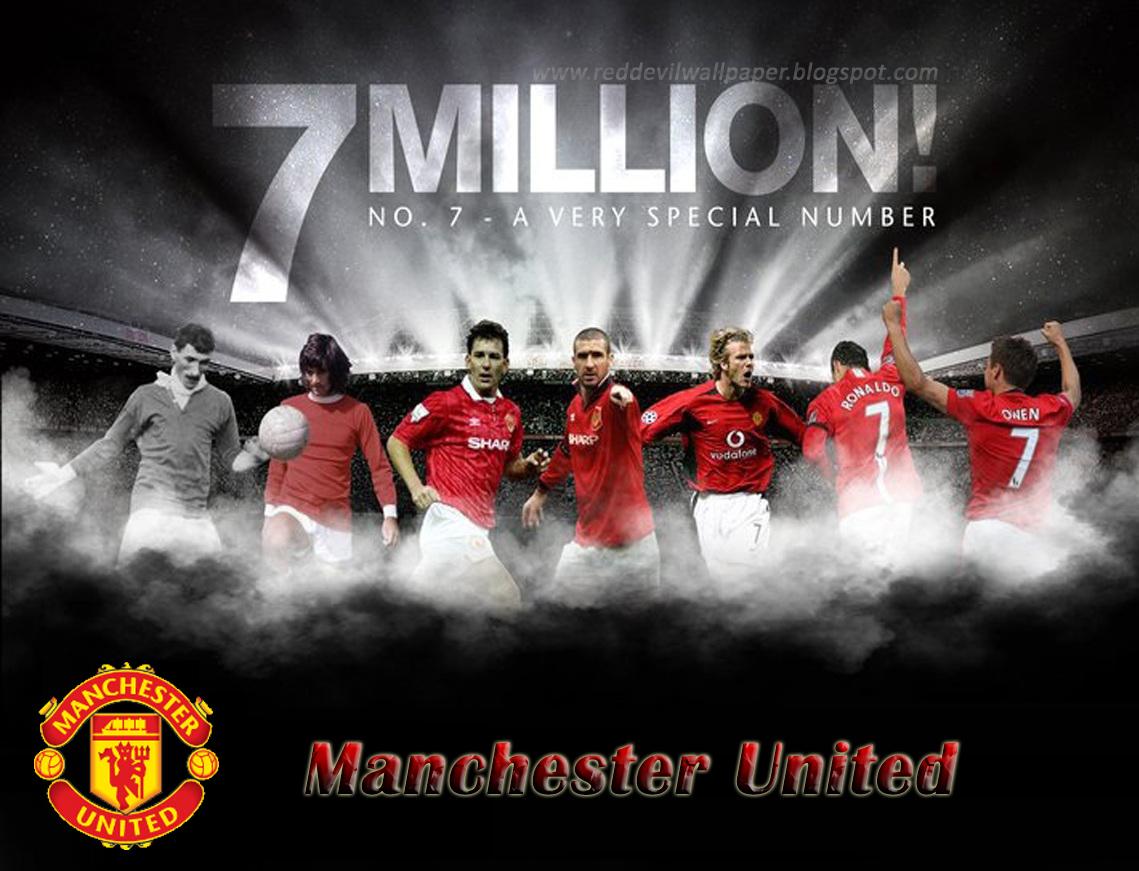 Man Utd Number 7
