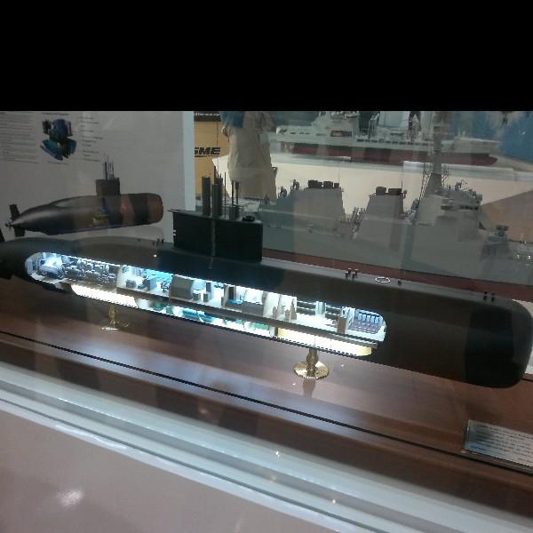 Model Kapal Selam Changbogo