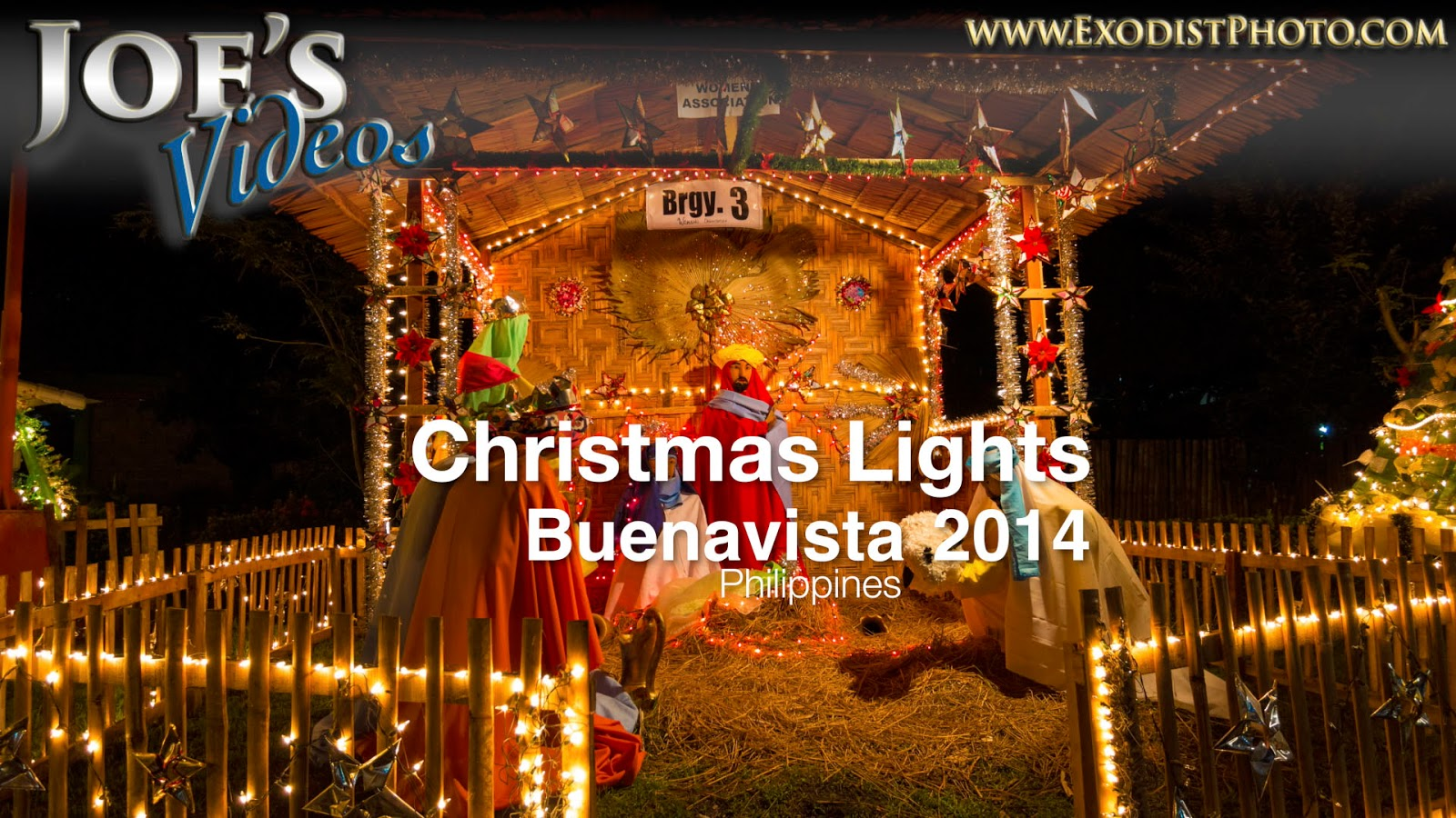 Christmas Lights In The Philippines 2014 In 4K UHD