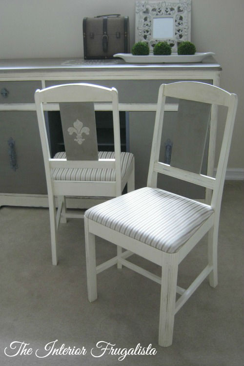 Vintage Dining Chairs After