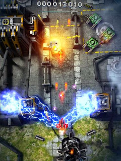 Screenshots of the Sky Force 2014 for Android tablet, phone.