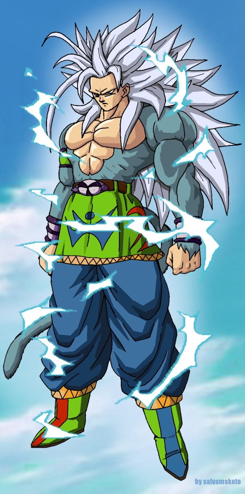 4simplex goku ssj 5 - Goku vs vegeta super saiyan 5 ...