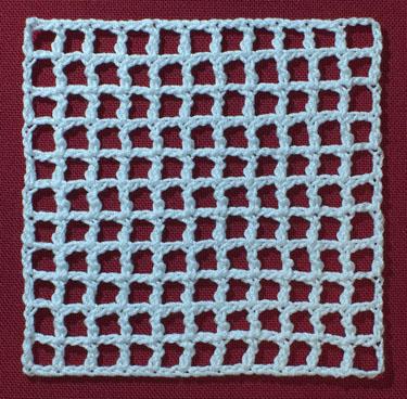 Crochet Net Stitch Patterns : La Signora delle Idee: Ruche alluncinetto (wiggly crochet) tutorial