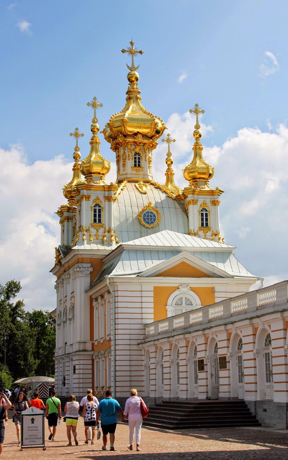 купола Петергофа