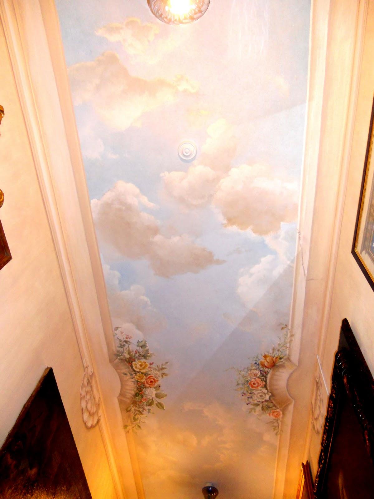 Decori Da Soffitto: Pareti e soffitti decorati decorazione ...