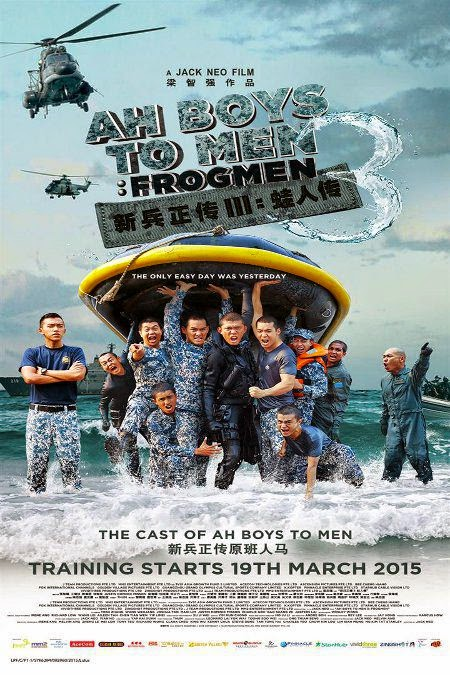 Ah Boys To Men 3: Frogmen (2015), Movie terbaru, Tonton Online, Filem Terbaru.