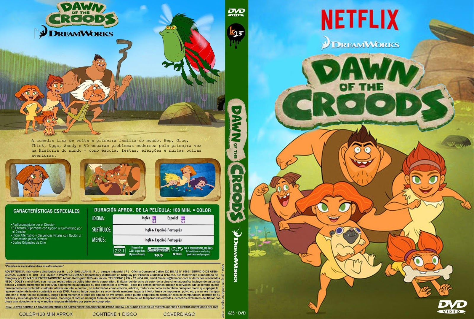 Úsvit Croodsových / Dawn Of The Croods (2015)