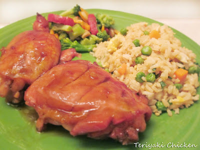 Diddles and Dumplings: Teriyaki Chicken & Fried Rice