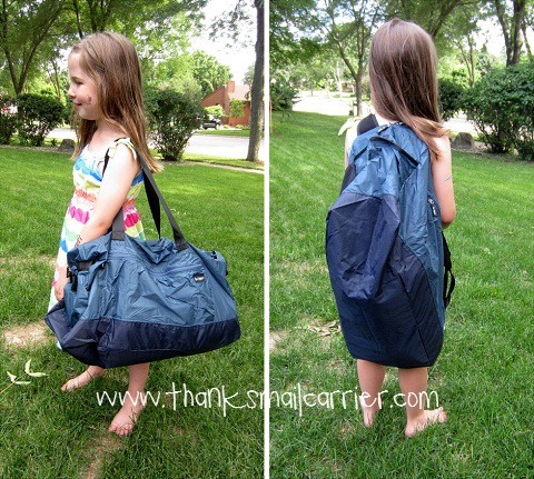 Thanks, Mail Carrier | Bōken Extra Large Duffle Bag {Review & Giveaway