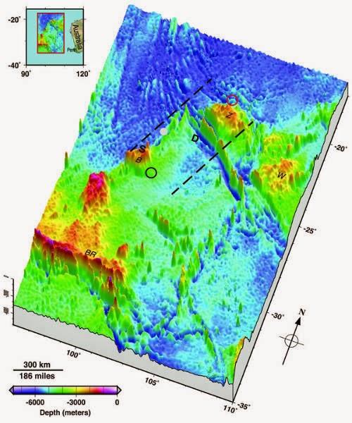 Pemetaan Dasar Laut Samudera Hindia