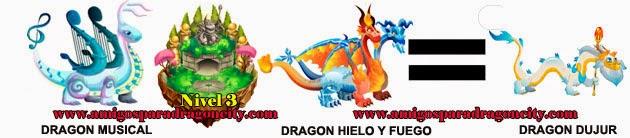 como obtener el dragon dujur en dragon city formula 4