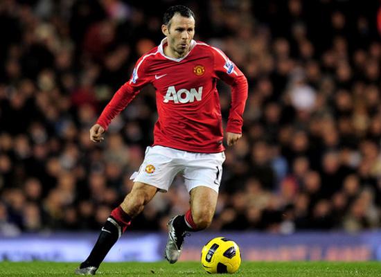 Ryan Giggs Manchester United Wallpaper 2011
