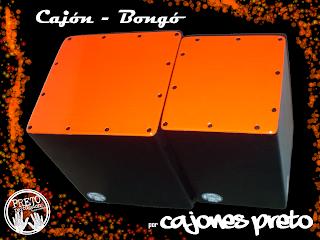 cajon bongo cajones preto