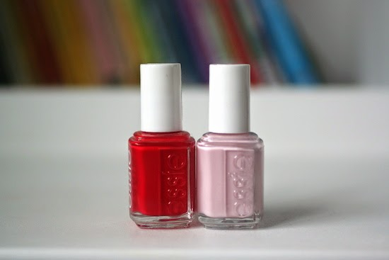 Then I Was At Per S Mart Picking Up Dance Makeup And Eyelashes For My Normally Would Never Essie Nail Polish Because They