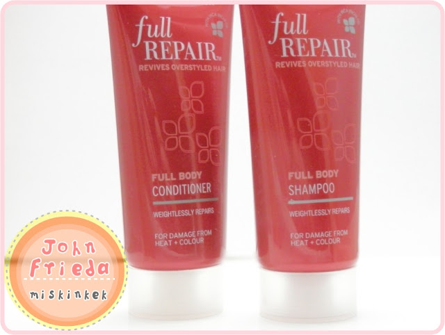 John-Frieda-Full-Repair-Full-Body-Sac Bakim-Şampuani-Sac-Kremi