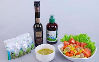 Cara Membuat Salad Chlorophyll