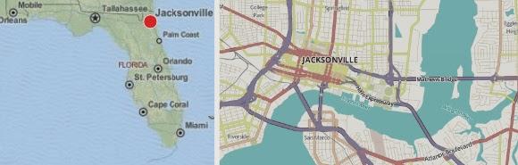 sehenswerte Brücken in Jacksonville