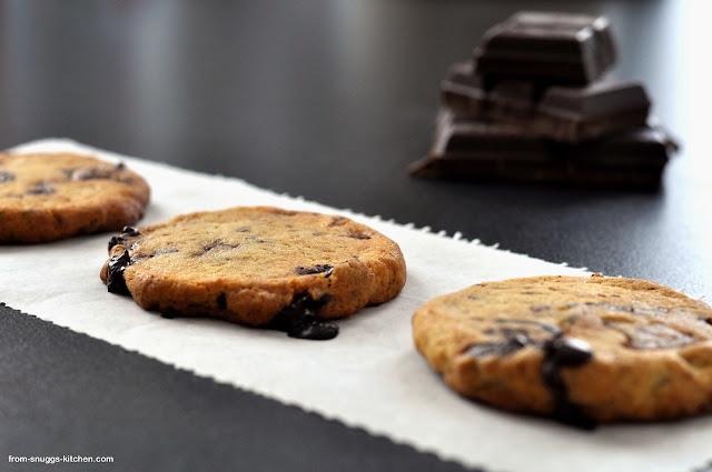 Chocolate Chip Cookies mit Frischkäse
