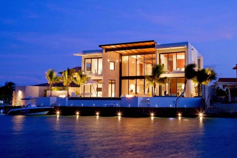 Rumah Pulau Yang Eksklusif