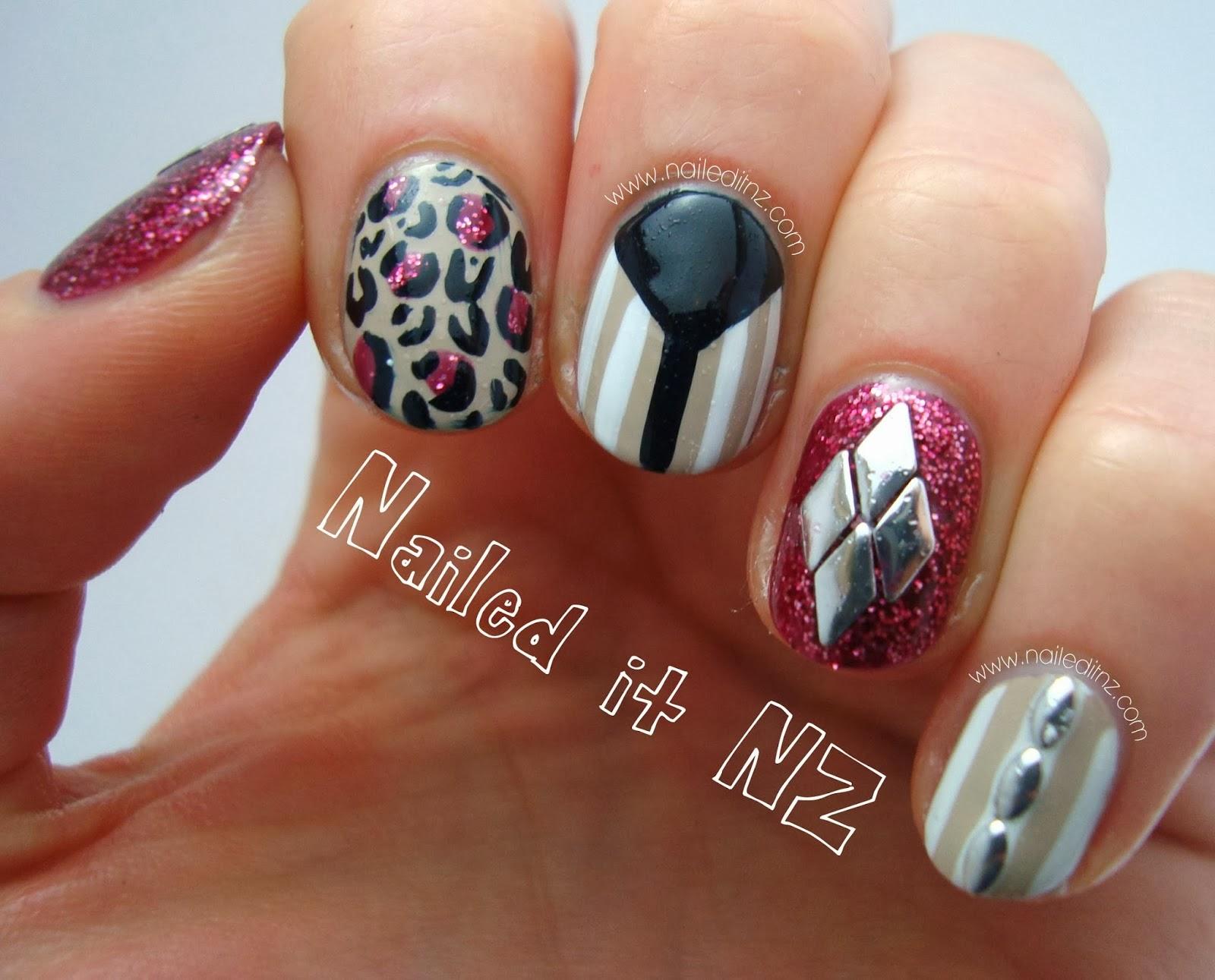 Round Shaped Nail Designs