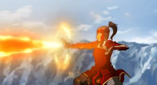 The Legend of Korra 2012 Korra Firebending