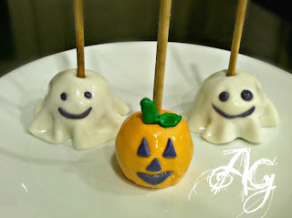 halloween food gifts: easiest cake pops ever!!!