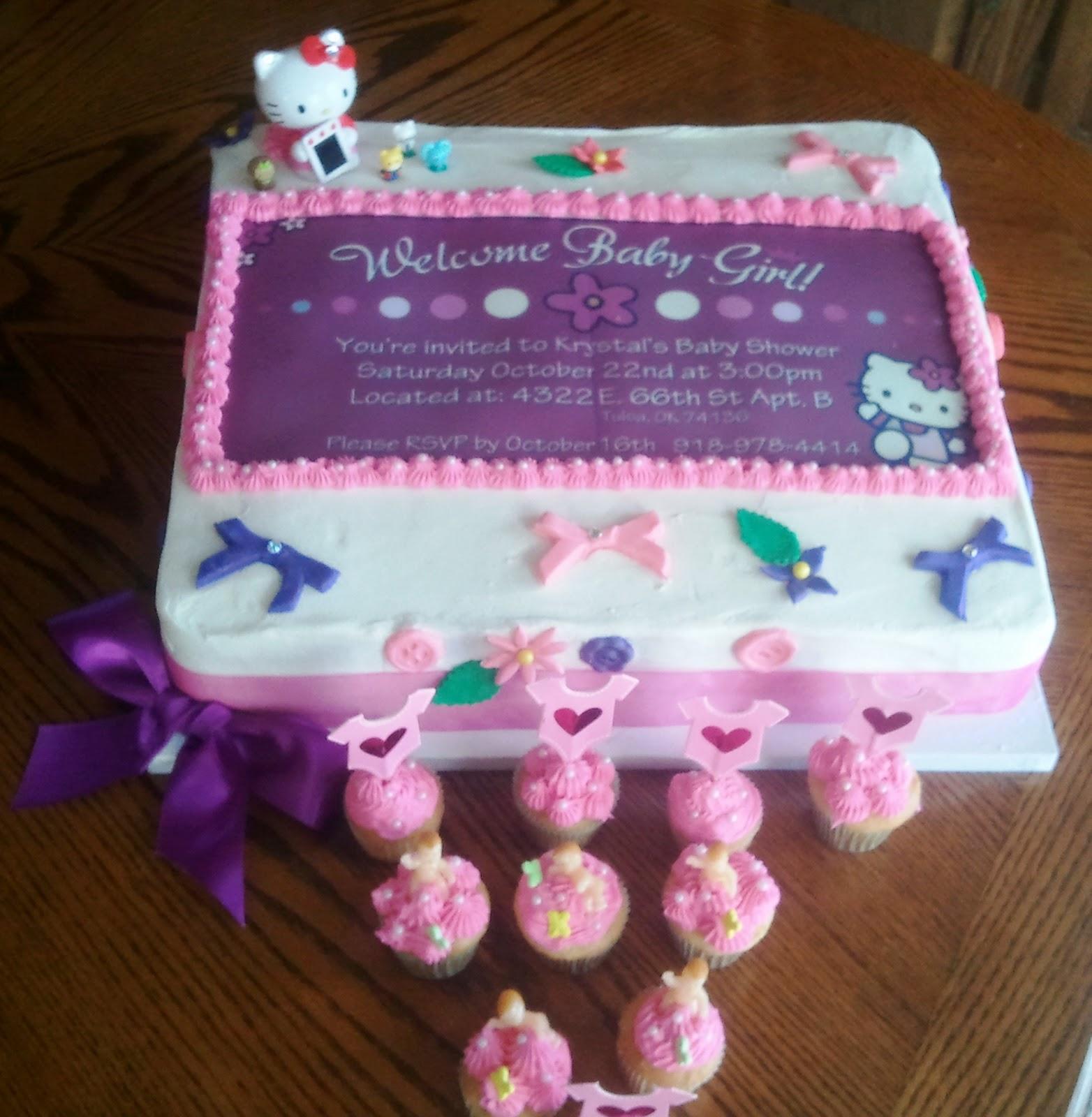 Hello Kitty Baby Shower Cake Part - 50: Hello Kitty Baby Shower