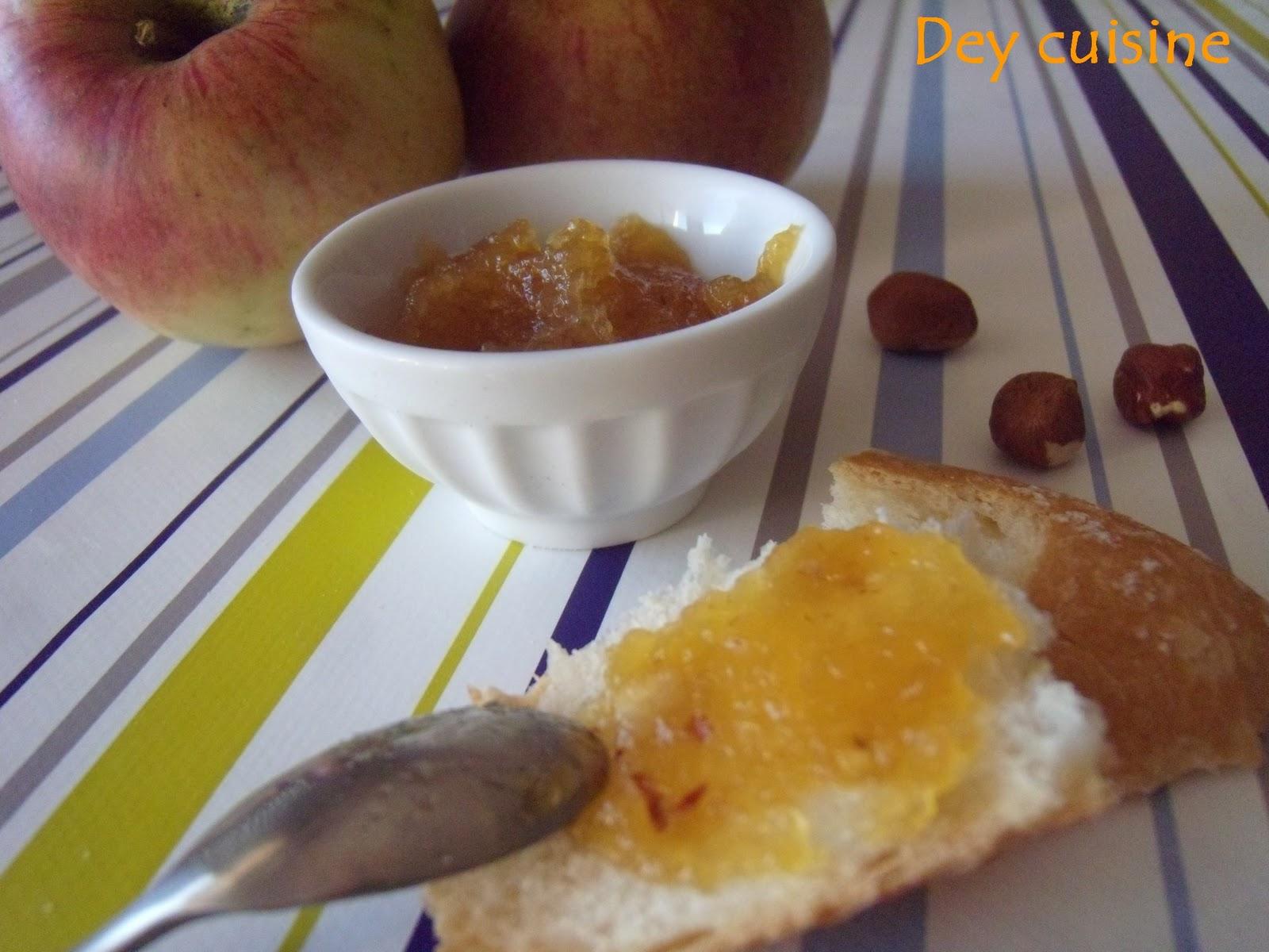 dey cuisine confiture de pommes au caramel noisette. Black Bedroom Furniture Sets. Home Design Ideas