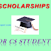 SCHOLARSHIP TO CS STUDENTS