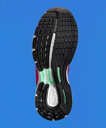 suelas zapatillas running mujer adidas Supernova Sequence boost Continental sistema torsión