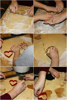 cutting cookie shapes