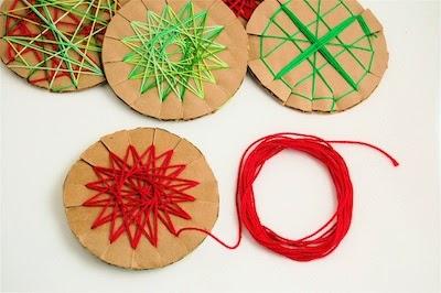 Manualidades para niños en navidad en Recicla Inventa