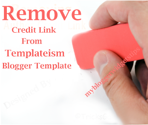 Cara Menghapus Link Credit Footer Template Blog