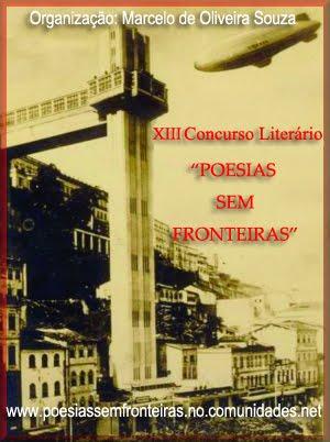 XIII Concurso Literário Poesias sem Fronteiras